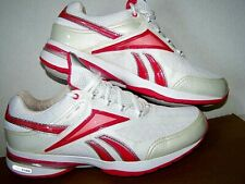 REEBOK Easytone Smooth Fit Toning Women's Size 9M White Pearl Pink VCLEAN! MustC
