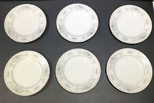 More details for 6 x diane - the porcelain - fine china - side plates - japan - 16cm approx