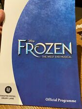More details for frozen the musical west end samantha barks programme preview