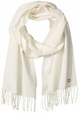 Calvin Klein Women's solid Woven Scarf One Size Eggshell NWT MRSP $38