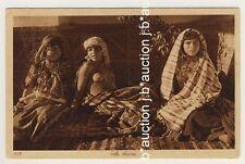 LEHNERT & LANDROCK #219: ARAB GIRLs * Vintage 1910s Ethnic Nude PC