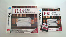 Game Nintendo Ds Ds Lite XL Dsi 100 Set of 6 Board Books of Classic Complete