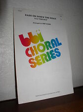 Choral Music: Ease on Down the Road Arr. by Jerry Nowak S.A.B. (BBI Choral)