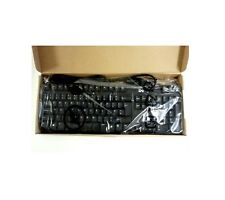NEW BOXED DELL DESKTOP SERVER USB EXTERNAL UK ENGLISH BLACK 105 KEYBOARD UY780