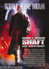 POSTER: MOVIE REPRO :  SHAFT - SAMUEL L. JACKSON - FREE SHIP #FP0854  RC41 K
