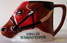 "BELMONT PARK  ""Seabiscuit Ceramic Collectors Mug"" - NEW in BOX"
