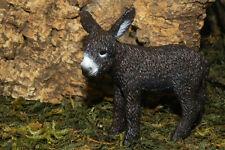 Schleich Retired Donkey Foal Figurine Farm Animal Nativity Scene Pesebre Burro