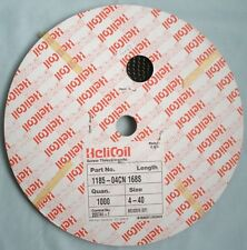 HELICOIL  HELI COIL    1185-04CN 168s       ms122076 (s/f)      4-40  1000 pcs.