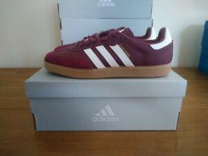 Adidas Velosamba SPD Cycling Shoes Crimson Red White Size 9 UK BNIBWT