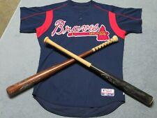 Atlanta Braves Cesar Crespo Spring Training Jersey, #64, 2006 Season, Size 46