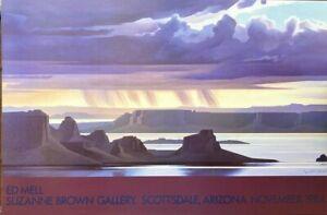 Vintage: Ed Mell Suzanne Brown Gallery , Scottsdale Arizona, November 1984