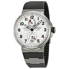 Ulysse Nardin Marine Chronometer Silver Dial Mens Watch 11831263/61