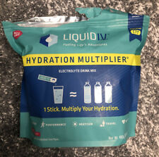Liquid I.V. Hydration Multiplier Drink Mix Passion Fruit 30 Packs - Open Box