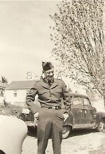 Korean War US RP- USAF- A/2C William Hilstrom- Uniform- Hat- Car- 1950-53