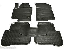 Rubber Car Floor Mats All Weather Carmats Alfombrillas VW PASSAT B6 B7 2006-2014