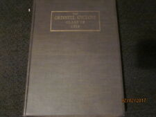 1914 Grinnell College (IA) Cyclone Yearbook Annual - Beautiful!!
