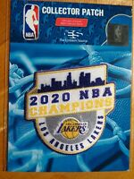 NBA Los Angeles Lakers 2020 NBA Championship Patch #1 FREE Shipping US & Canada