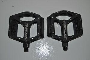 Redline Medium Old School BMX Pedal 9/16 Alloy Anti Slip BMX Red Line Pedals