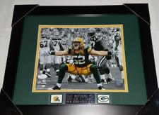 Fanatics Authentic Certified Framed Clay Matthews Green Bay Packers Autographed 8 x 10 Flex Photograph