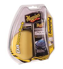 Meguiar's G3502 DA Powerpak Polish Pad & 4 oz Ultimate Polish for Drill Operated