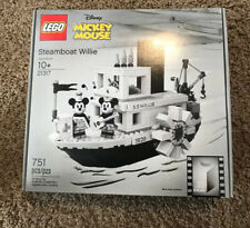 LEGO Mickey Mouse 21317 Steamboat Willie 90 Years Ideas 2019 NEW Sealed Error 24