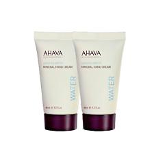 Ahava Dead Sea Water Mineral Hand Cream 1.3oz/40ml ea NEW LOT OF TWO