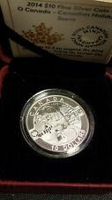 2014 Canada Fine Silver Coin - Canadian Holiday Scene - O Canada Series Snowman