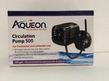 New Aqueon Circulation Pump 500 for Aquariums 20-40 Gallons
