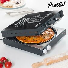 Pizza Maker Cooker Mini Oven Machine *HomeMade Pizza* Electric Stone Fast Baker
