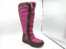 Timberland Crystal Mountain 17681 Sz 7.5M Brown/Violet Tall Boot Shoes For Women