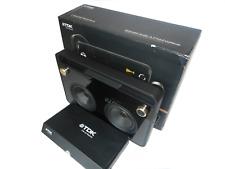 Boxed Digital Mint TDK TP6802BLK 2-Speaker Boombox w/ AM FM Radio + Accessories