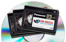 VIDEO TRANSFER SERVICE VHS TO DVD