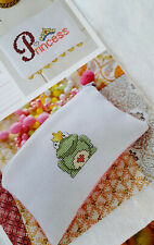 Once upon a time, Kiss s a frog Cross Stitch Chart -