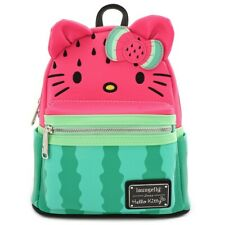 Loungefly Sanrio Hello Kitty Watermelon Fruit Kawaii Mini Backpack Bag SANBK0352