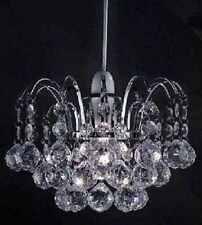 Lampadario stile soffitto pendente luce ombra Acrilico Crystal Ball Gocce Perle