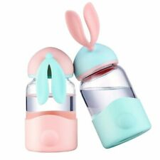 Child Animal Bottle Rabbit Silicone Drinking Coffee Pot Water Tumbler Accessory