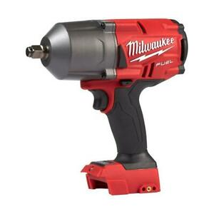 "Milwaukee 2767-20 M18 FUEL High Torque ½"" Impact Wrench with Friction Ring (Tool"