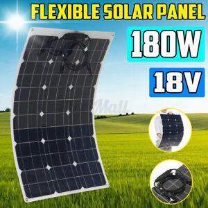 Monocrystalline 180W 18V Highly Flexible Solar Panel Tile Mono Panel Waterproof