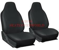 MERCEDES Pair of LEATHERETTE FRONT SEAT COVERS A B C Class CL CLA CLC CLK CLS
