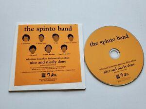The Spinto Bande - Sélections De Nice Et Joliment Fait Promo CD Indie Alt Rock