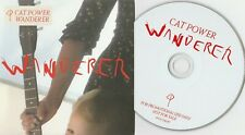 cat power wanderer rare uk domino card cover promo new cd alt us indie folk rock
