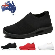 Men's Slip On Sneakers Tennis Running Athletic Shoes Loafer Walking Casual Shoes