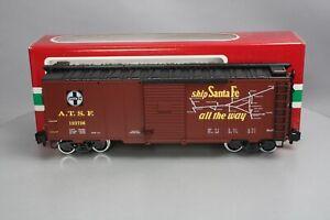 LGB 45913 Santa Fe Boxcar #123736 - Metal Wheels LN/Box