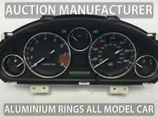Mazda MX-5 II NB Miata 1998-2005  5- Teilig Aluminium Tachoringe / Tacho Ringe