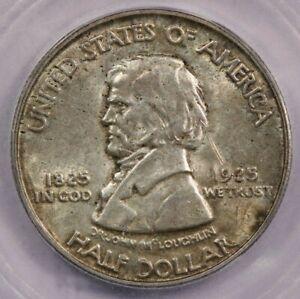 1925 Vancouver Classic Silver Commemorative Half Dollar ICG MS60 Details