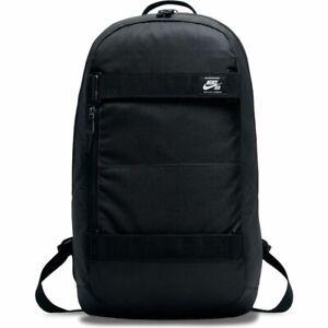 Nike SB Backpack Courthouse Black Skateboard Straps School Travel Bag