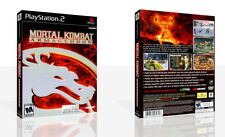 Mortal Kombat Armageddon PS2 Replacement Game Case Box + Cover Art (No Game)
