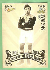 2008 RUGBY LEAGUE CENTENARY CARD #5  CHRIS McKIVAT, GLEBE