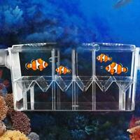 Fish Tank Breeder Box Hatching Isolation Box for Guppies Betta Baby Fish
