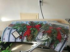 Studio M Matmate and Garden Flag Holiday Garland**Brand New**with tags